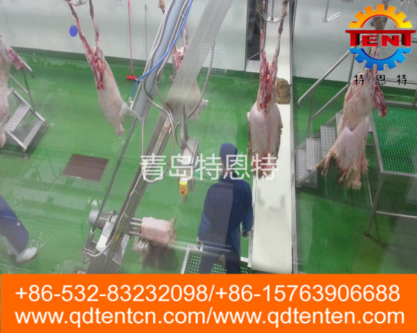 Sheep peeling machine